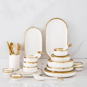 Goldline Soup Set