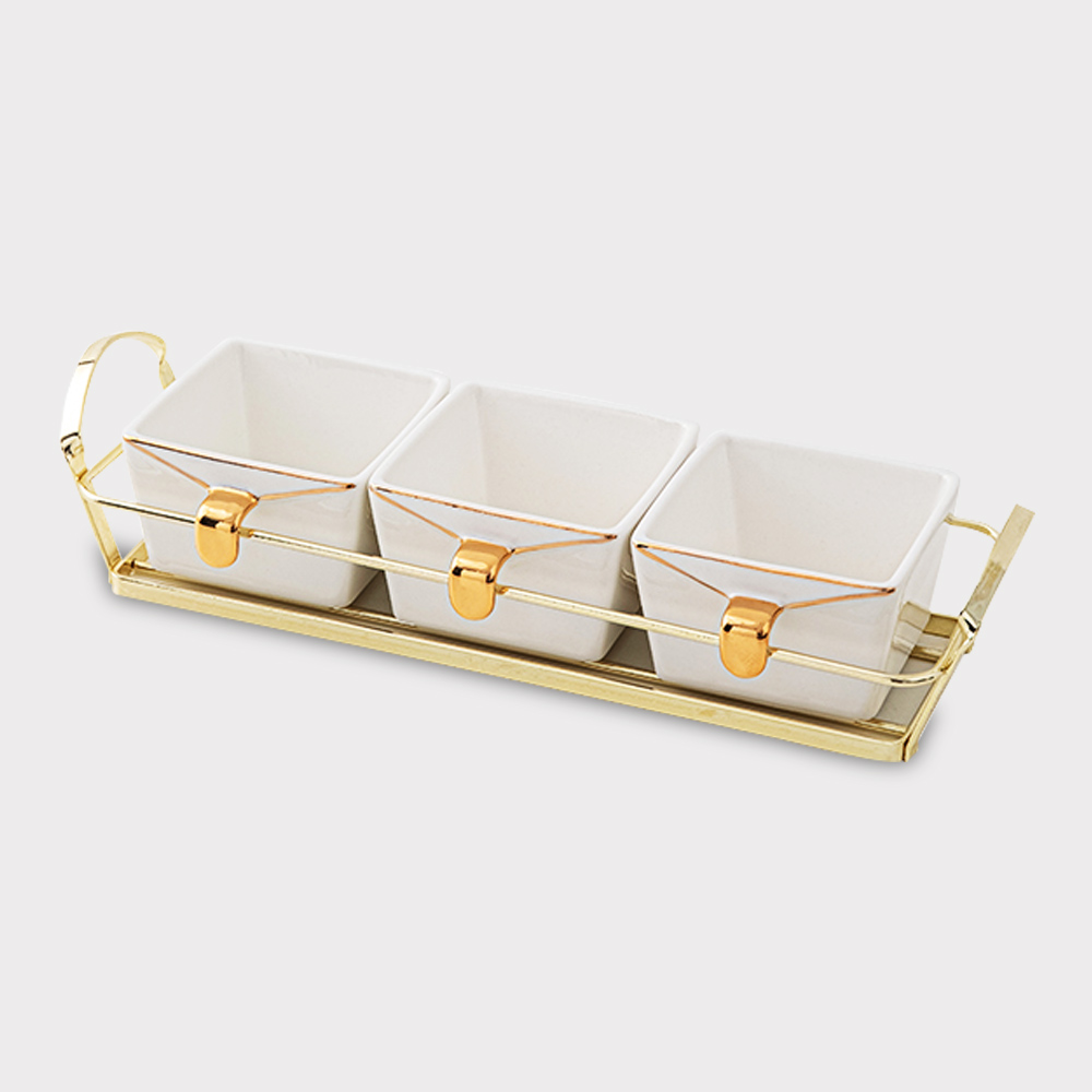 Grid Dried Fruit Dish home Accessories