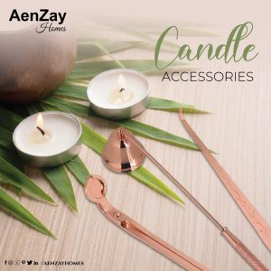 Candle Accessories (RoseGold)